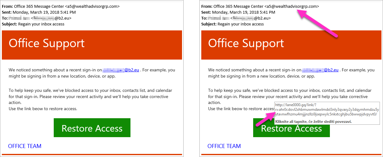 Office Support Phishing